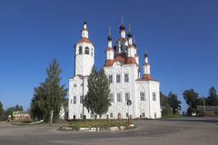 Church of the Entry of the Lord into Jerusalem in Totma, Vologda Region Royalty Free Stock Images