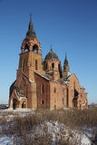 The Church of the Entry of the Most Holy Virgin into the Temple (Vvedenskaya Church), Pyot, Ryazan region, Russia Royalty Free Stock Photography