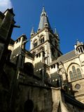 Church in Epernay. In France Champagne royalty free stock photos