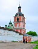 Church of the Epiphany in Goritsky monastery. Pereslavl-Zalesski, Russia Stock Photo