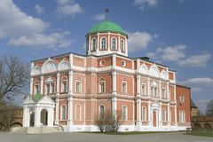 Church of the Epiphany. Tula Kremlin Stock Image