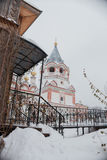 Church of the Epiphany in winter Stock Images