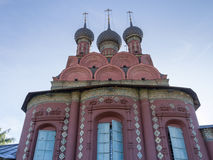 Church of the Epiphany in Yaroslavl Stock Photo
