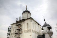 Church of the Epiphany. Zvenigorod, Russia. Stock Photography