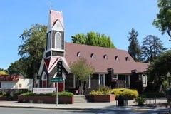 Church. Episcopal church in Santa Rosa, California Royalty Free Stock Photo