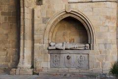 Church of Erandio. Bizkaia, Basque Country, Spain royalty free stock photo