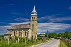 Church in Erdovec village, Croatia Stock Images
