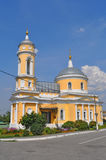 Church of Erection of the Lord's Honest Cross  in historical centre of Kolomna city Royalty Free Stock Photography