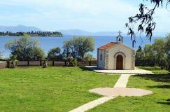 Church in Eretria Evia Greece Royalty Free Stock Photos