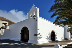 Church Ermita de San Marcial del Rubicon at Femes, Lanzarote Isl Stock Images