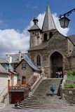 Church in Estaing Stock Images