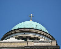 Church- Esztergom. Preview image appears detail of the building stock photography