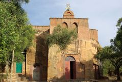 Church in Ethiopia stock photography