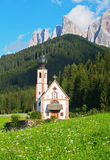 Church in the European Alps Stock Photos