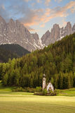 Church in the European Alps Stock Images