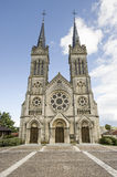 Church of Euville (France) Royalty Free Stock Photos