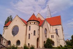 Church,evangelical- augsburg Royalty Free Stock Image