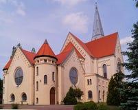 Church,evangelical- augsburg Stock Image