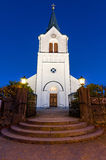 Church at evening time Stock Photos