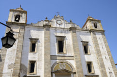 Church in Evora Stock Photography