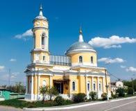 The Church Of The Exaltation Of The Cross. Kolomna Kremlin Royalty Free Stock Photos