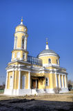 Church of the Exaltation of the Holy Cross (Krestovozdvizhenskaya). Royalty Free Stock Images