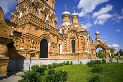 The Church of the Exaltation village mandrel Stock Photography