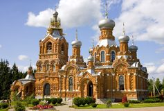 The Church of the Exaltation village mandrel Royalty Free Stock Images
