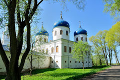 Church of Exhaltation of the Cross, Yuriev Monastery Stock Photography