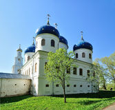 Church of Exhaltation of the Cross, Yuriev Monastery Royalty Free Stock Image