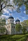 Church of Exhaltation of the Cross, Yuriev Monastery Stock Photos