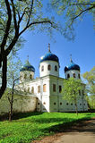 Church of Exhaltation of the Cross, Yuriev Monastery Royalty Free Stock Images