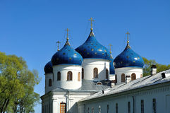 Church of Exhaltation of the Cross, Yuriev Monastery Royalty Free Stock Photography