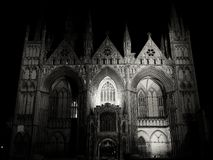 Church Exterior. Scary church extrerior in Peterborough, UK Stock Images