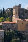 Church in Eze Village Stock Image
