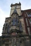 Church Facade at City Centre Prague Royalty Free Stock Images