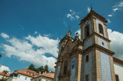 Free Church Facade Covered By Colorful Ceramic Tiles Royalty Free Stock Photo - 146748095