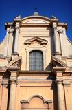 Church facade, details Stock Photos