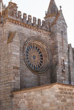 Church facade  in Evora Royalty Free Stock Images