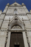 Church facade Stock Image