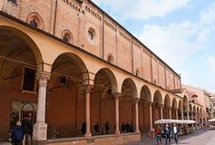 The church facade Stock Photography