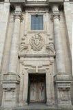 Church facade Stock Images