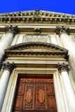 Church facade,Venice,Italy Royalty Free Stock Photo