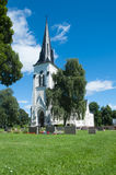 Church in Fagerhult, Sweden Royalty Free Stock Images