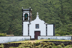 Church in Faja de Caldeira Stock Image