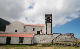 Church in Faja de Caldeira Royalty Free Stock Photography