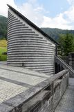 The church of famous architect Mario Botta at Mogno, Switzerland Stock Photography