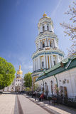 Church of famous Kiev Pechersk Lavra Monastery Royalty Free Stock Photo
