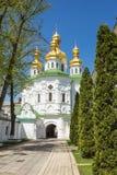 Church of famous Kiev Pechersk Lavra Monastery Royalty Free Stock Photos