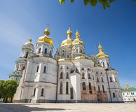 Church of famous Kiev Pechersk Lavra Monastery Royalty Free Stock Photography